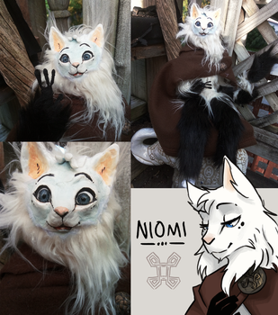 Niomi - the Norwegian forest cat by Heliocathus