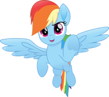 MLP Movie - Rainbow Dash by jhayarr23