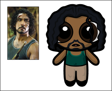 Lost Puff Sayid by Dragavan
