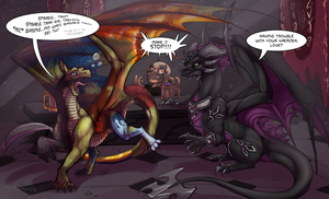 Commission : 99 Mugs of Vaercea on the Wall by WeirdHyenas