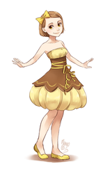 lemon tart fullbody by meago