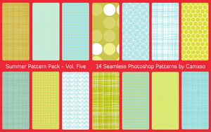 Summer Pattern Pack Vol. 5 by Camxso