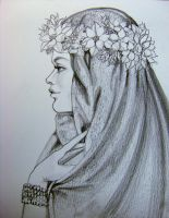 Wild Rose Pencil Rendering by HouseofChabrier