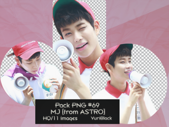 Pack PNG #69 - MJ [from ASTRO] |01| by YuriBlack