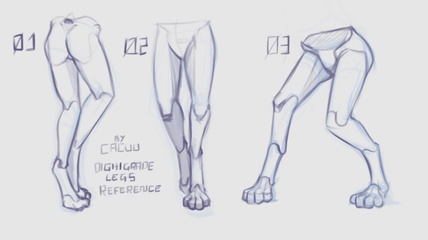 Digitigrade Legs Reference by Cacuu