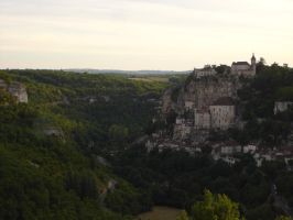 Rocamadour by day II by seretur1