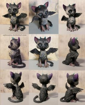 Chibi or Baby Trico by AplexPony