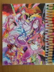 No game no life  by kopipie25