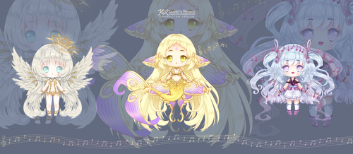 [CLOSED] REVERIE DOLL: Musical Collection I by QueenofReveries