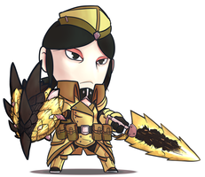 MONHUN CHARACTER by SiegeEvans