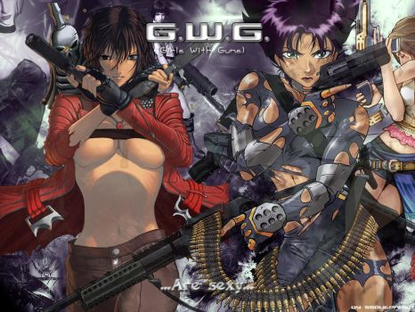 Girls With Guns by SSOutPhase