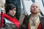 Hawke and Varric by Master-of-Unlocking