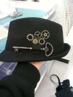 Steampunk Fedora by Kendermaille