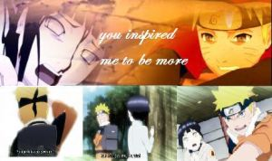 You inspired me to be more by HinaNarufreak