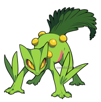 Pokemon:: Sceptile