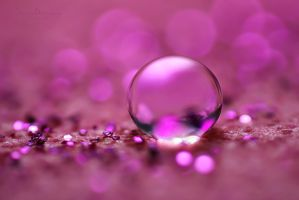 Pink Little World by SheilaMBrinson