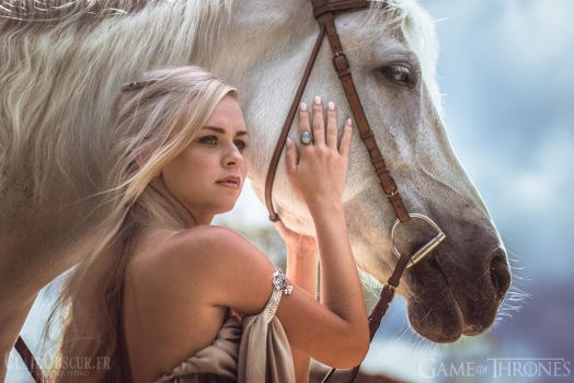 Khal Drogo Daenerys Project 02 by clair0bscur