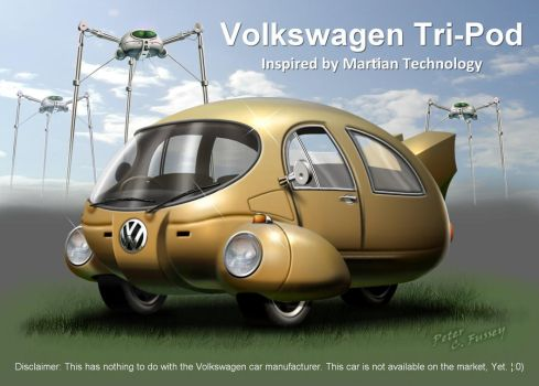 Volkswagen Tri-Pod by Lonesome--Crow