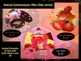 Mini Chibi Commissions! - Limited time sale xD by Rica-Sensei
