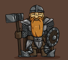 Dwarven Guardsman by Morgoth883