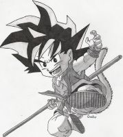 Goku- Kid by Sketcher6138