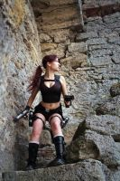 Lara Croft Underworld - rocks around by TanyaCroft