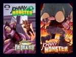 Johnny Monster Issues 2 and 3 by jasonhohoho
