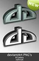 DA Logo PNG's by madFusion15
