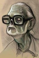 George A. Romero by TmoeGee