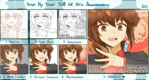 Step-by-Step: GX 10th Anniversary by Tenkana