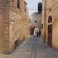 Street in Jerusalem by selma-todorova