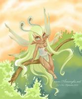 Fairy Paon Color by Nailyce