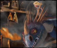 Over the Battle: (HTTYD2 webnovel ch11) by inhonoredglory