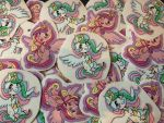 Princess Chibi Stickers by PoneBooth