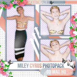 Miley Cyrus - Pack Png #68 by TheNightingale01