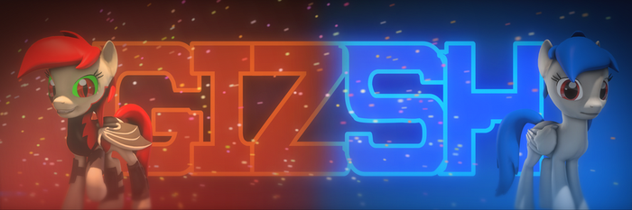 YouTube Banner by GizSH