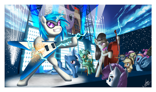 Vinylicious - Finished by zelc-face