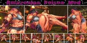 Amazonian Poison Muscle Mod + Pinup Gallery by Ripped-Pixels