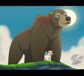 Giant Dad by Fainalotea