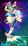 Jumping Space Princess Dysta by Meibatsu