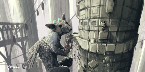 The Last Guardian - Tower by onlychasing-safety