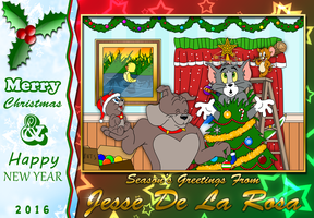 A Tom and Jerry Christmas by EspionageDB7
