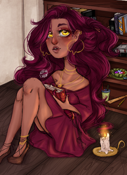 Books Babeiy | Art Fight by All-The-Fish-Here