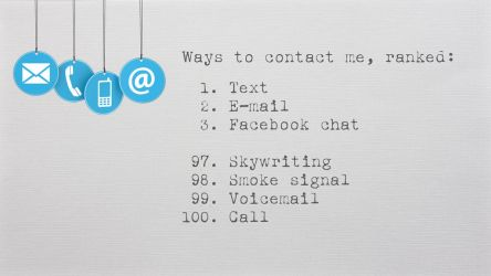 Ways To Contact Me by AbbyShue
