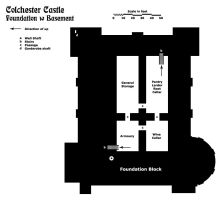 Colchester Castle -- Foundation by TeamGirl-Differel