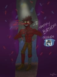 Happy Birthday Nukude by RedxFoxy