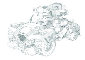 All Terrain Vehicle by kordal