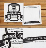 Drink and Draw Coaster by TheRyanFord