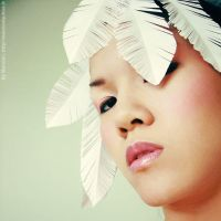 Paper Plumes 9 by Marciedip
