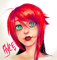 Ayce Painting by Krooked-Glasses